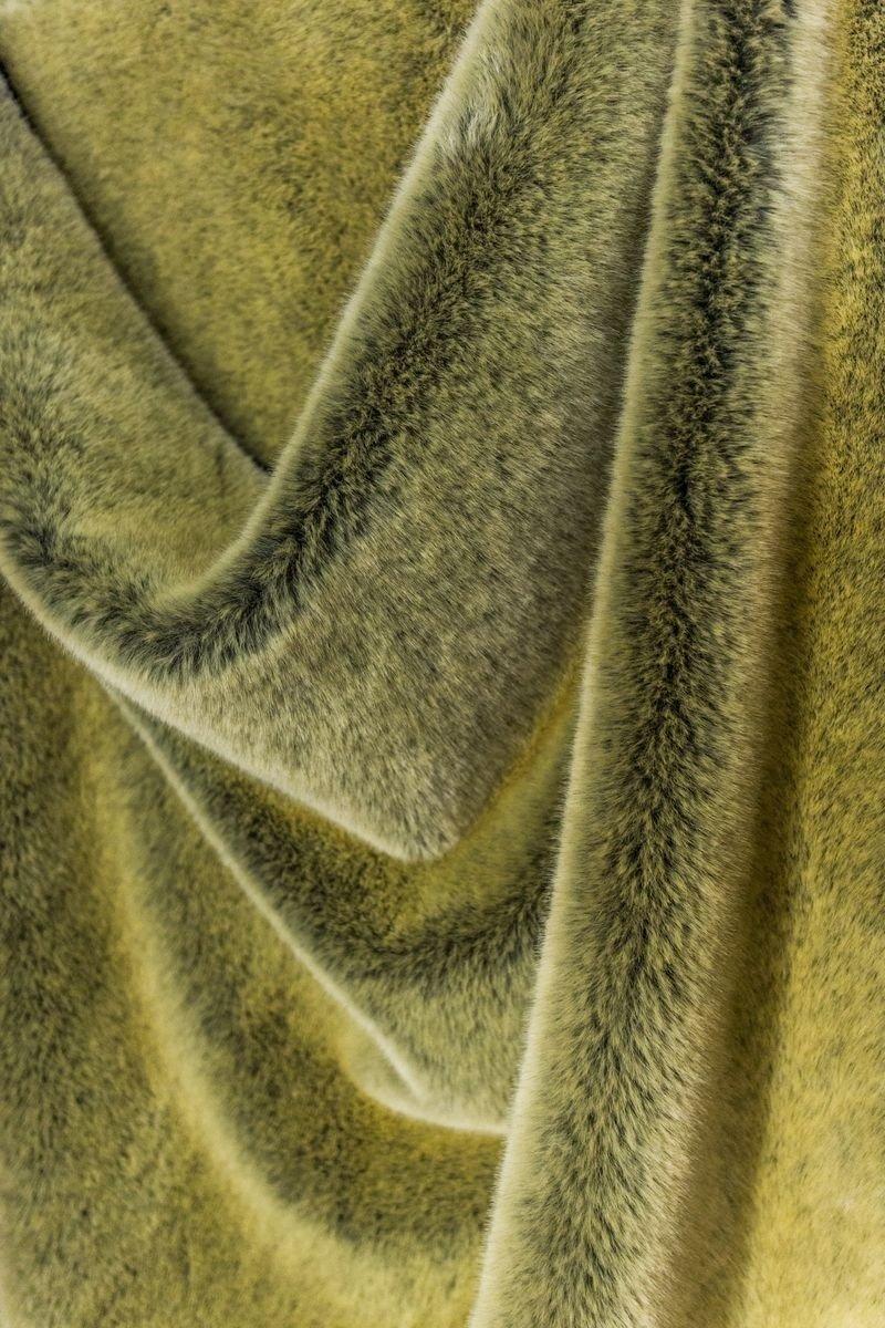pezza pelliccia sintetica nutria