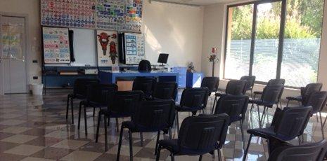 L'aula dell'Autoscuola Lonato a Lonato del Garda