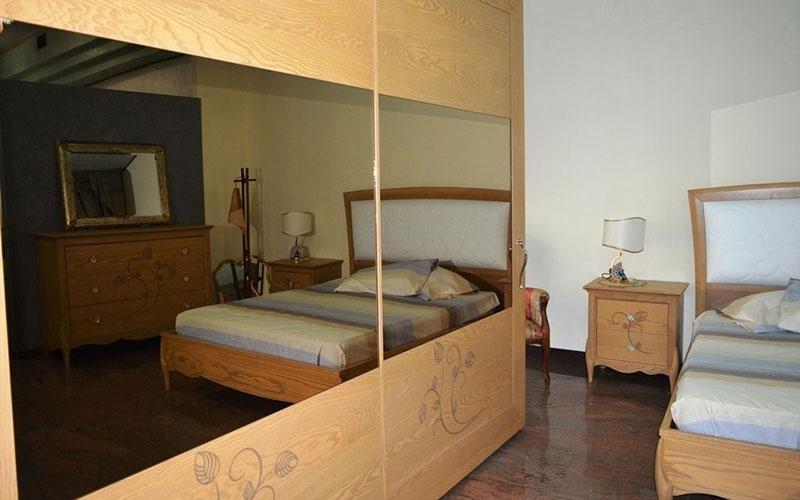 esposizione camere letto