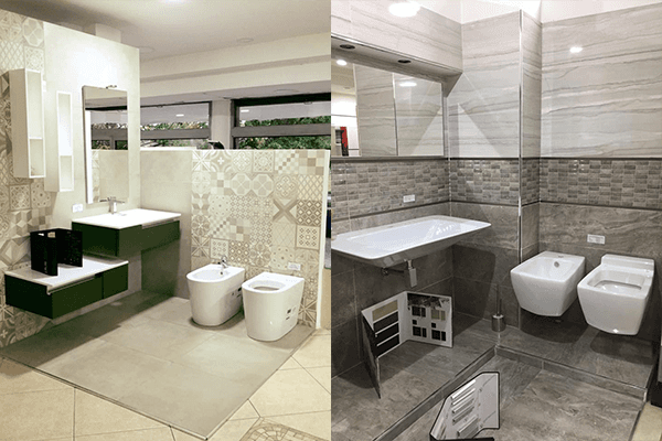 arredo bagno classico e moderno