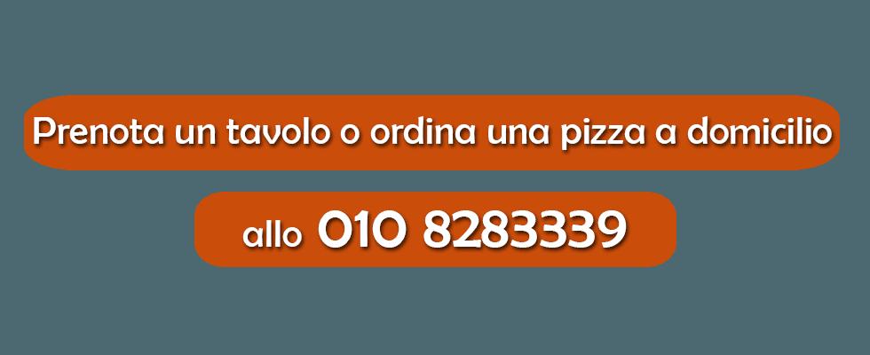Pizzeria a domicilio