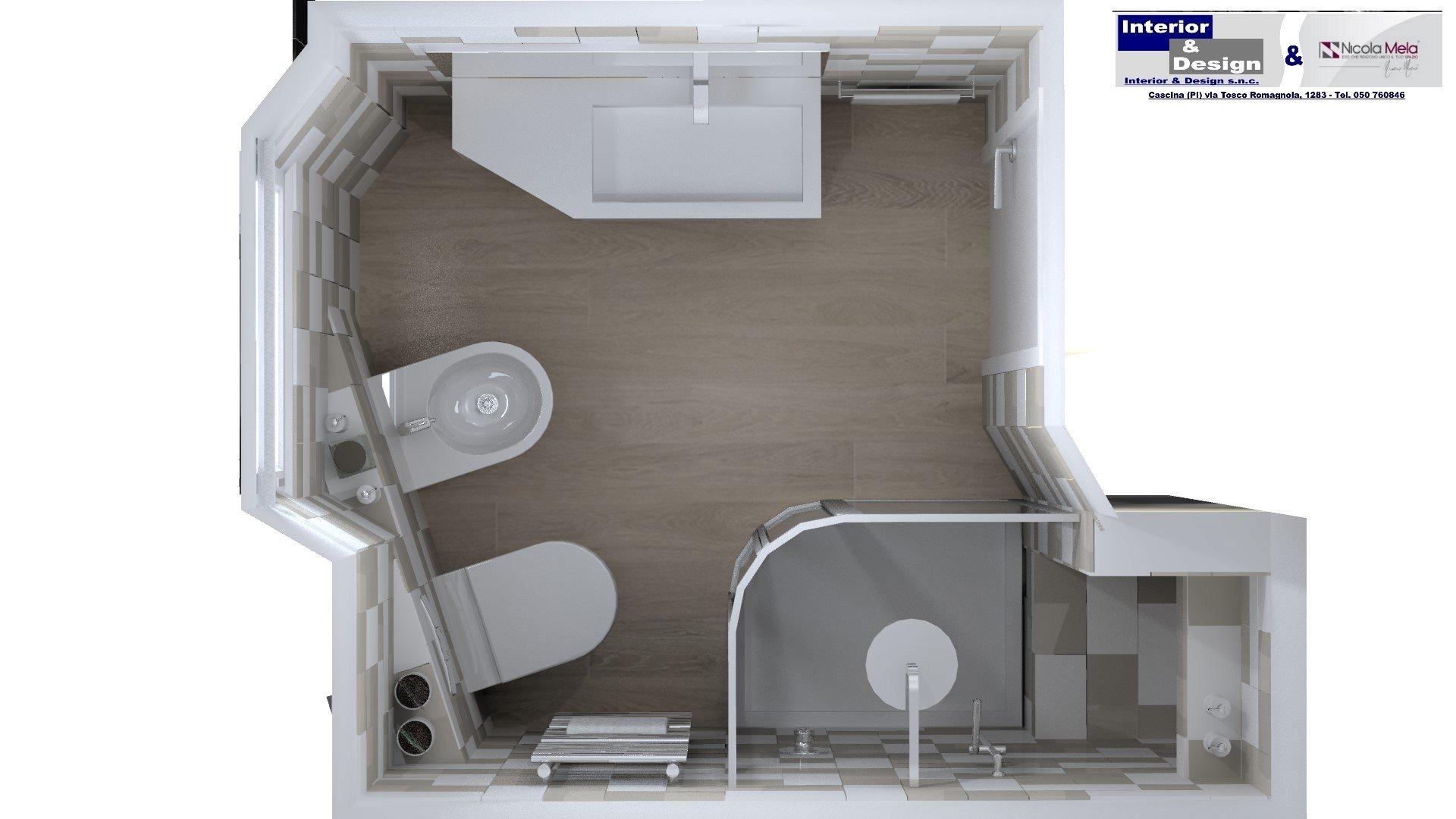 progettazione bagni Pisa