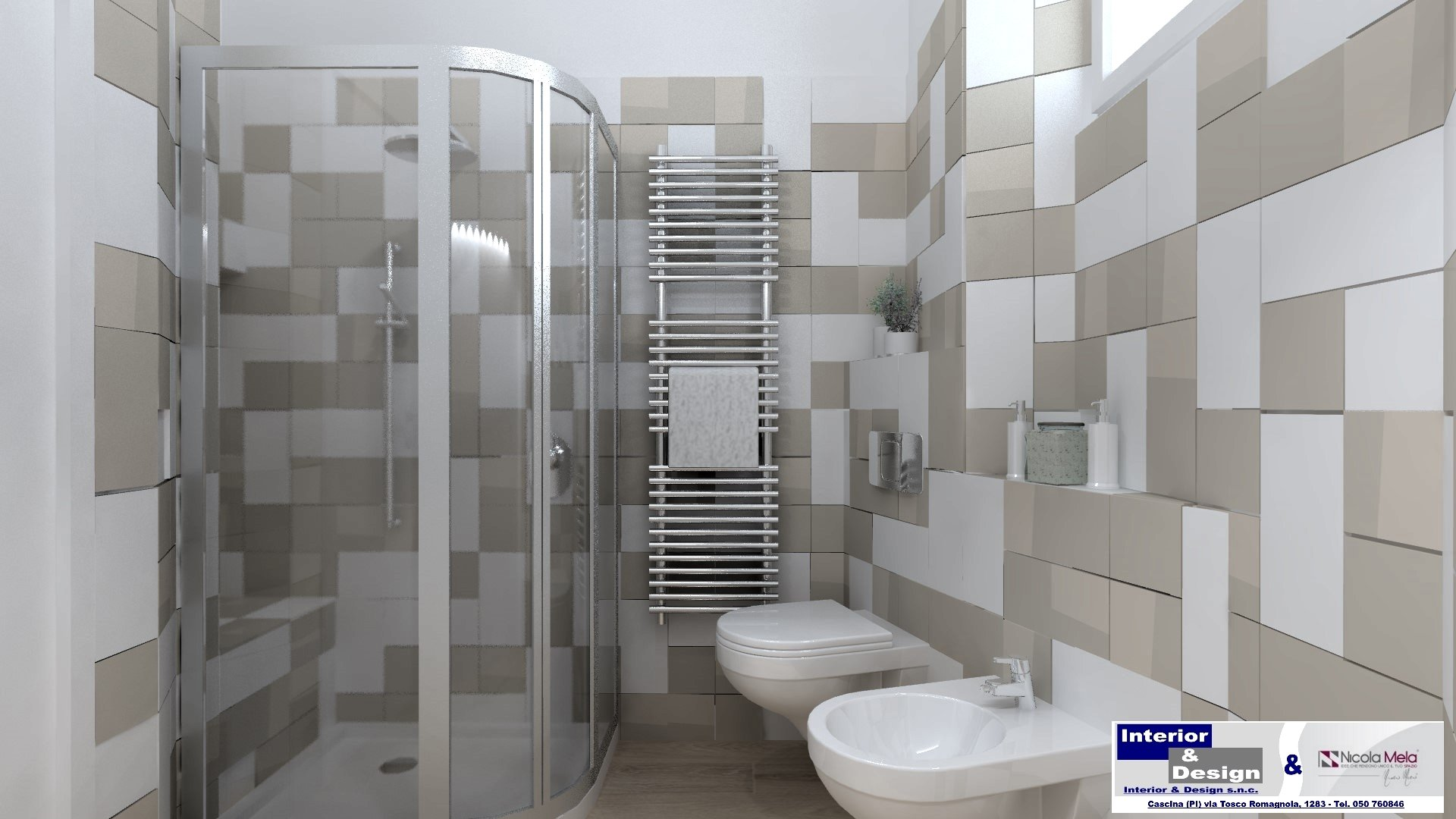 Progettazione bagno Lucca