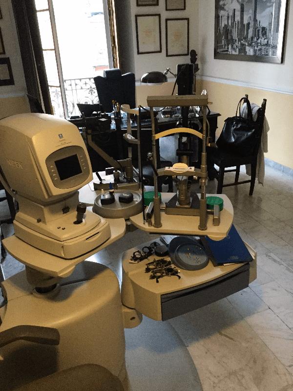 laser controllo vista