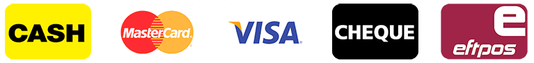 mastercard visa eftpos payment options