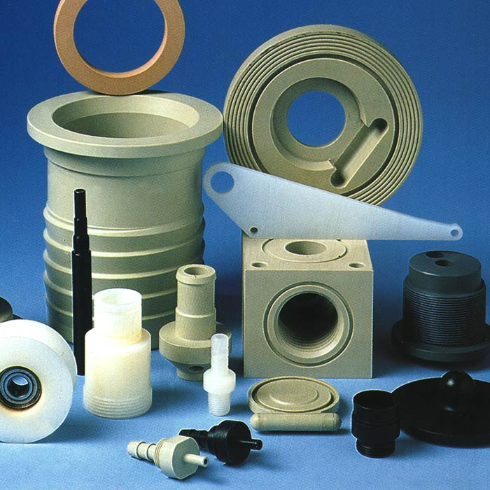 selection of plastic parts