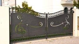 cancello alluminio