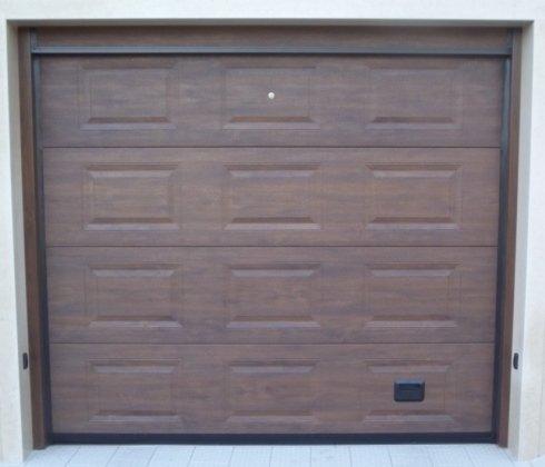 Portoncino per garage