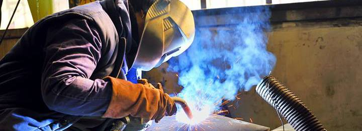Man providing welding services in Hilo, HI
