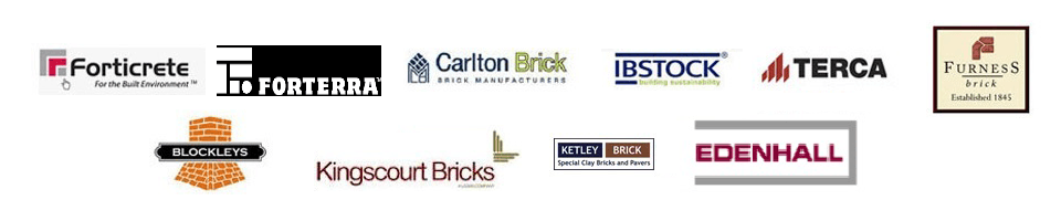 Brick supplier logos