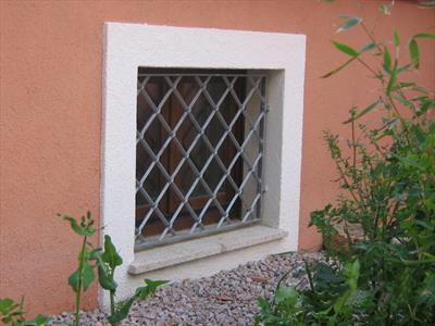 griglia di una  piccola finestra