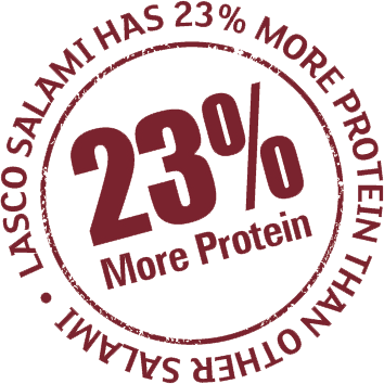 23% more Protein rich meat product
