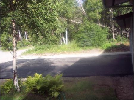 asphalt on road