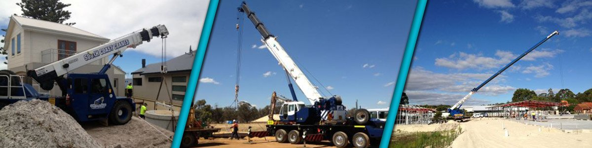 south coast cranes machinery lifting tasks