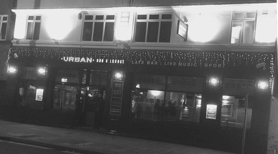 Urban Bar & Lounge pub exterior