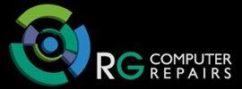 rg computer repairs logo