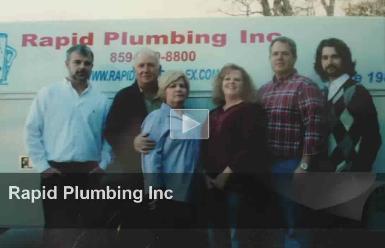 Rapid Plumbing in Lexington, KY