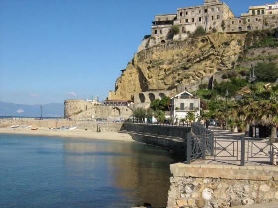 Pizzo, Calabria com mare