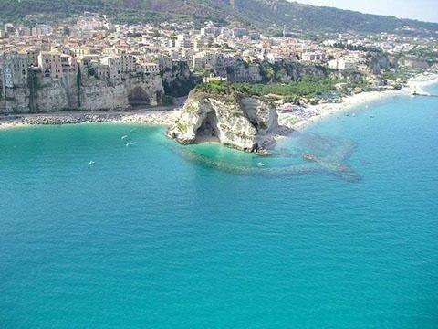 Tropea mare Italia