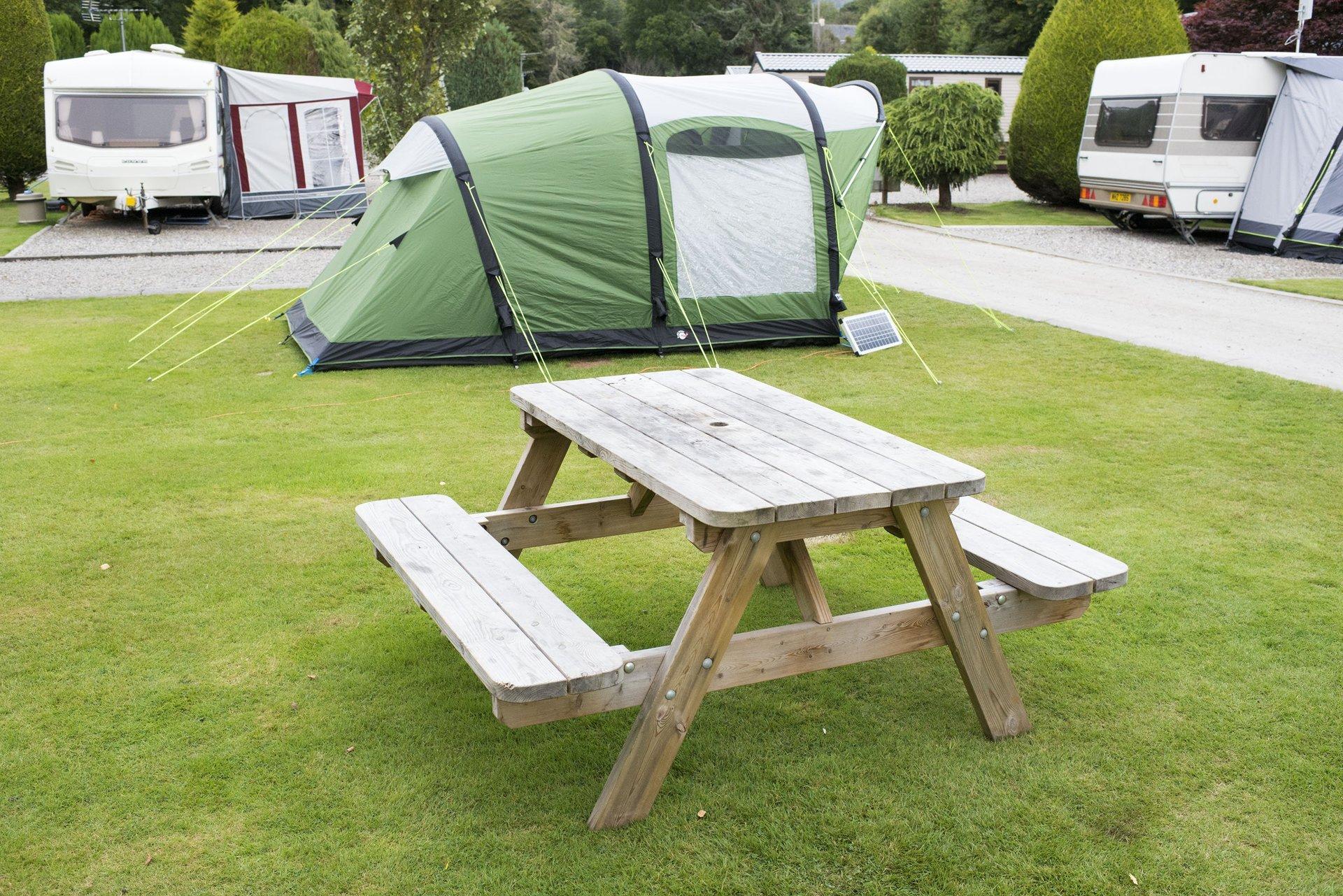 Tent Camping, Black Rock Caravan Park