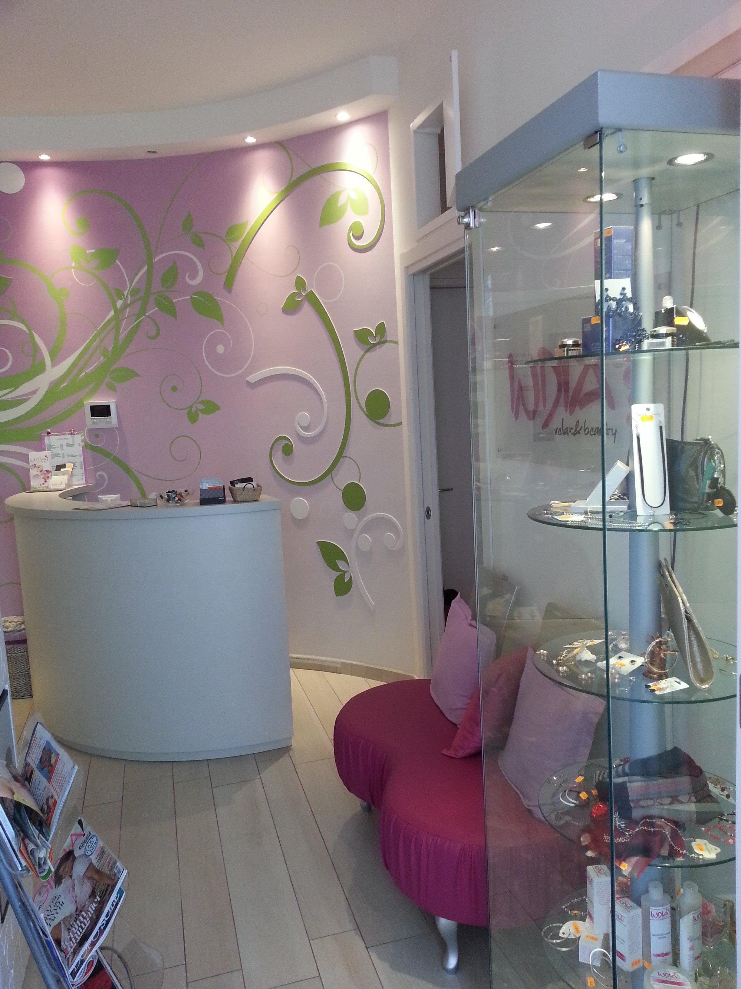 Interno del centro Indian Relax Beauty a Rimini