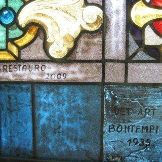 restauro vetrate antiche