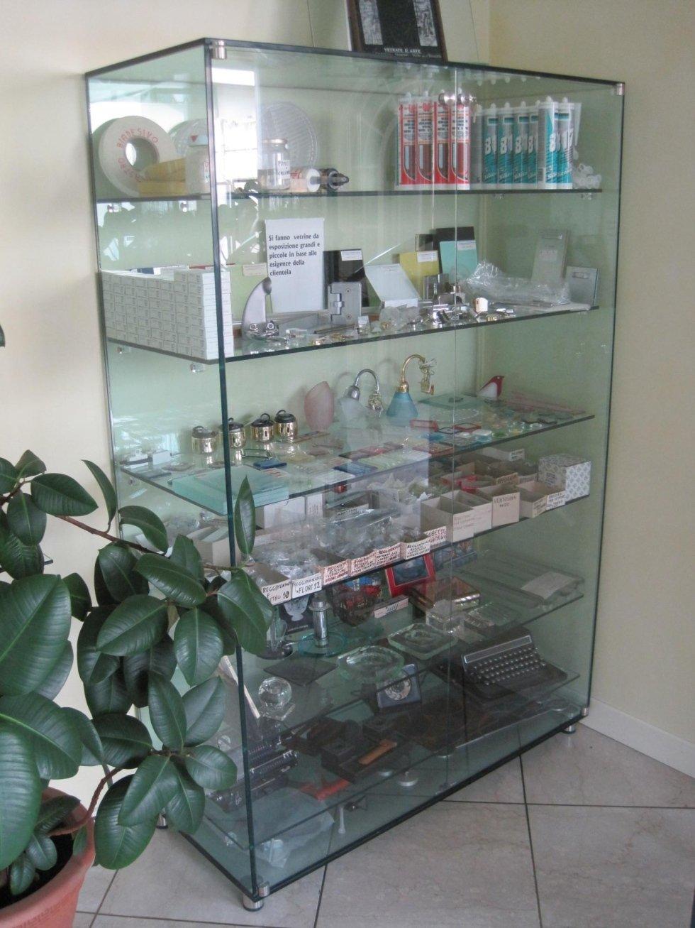 vetrina da esposizione