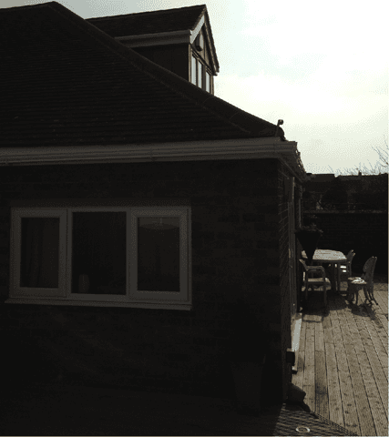 Roof dormer in Lincoln work completed