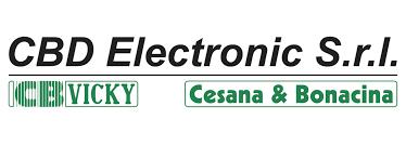 logo C.B.D  Electronic S.r.l CB Vicky Cesana & Bonacina