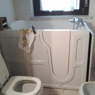 bagno, vasca chiusa