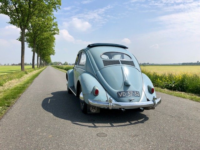 WANTED - Original Parts for 1956 Horizon Blue Oval Beetle