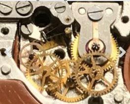 Slava transistor clean geartrain Budget Accutron Serice