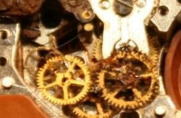 Slava transistor corroded geartrain Budget Accutron Serice