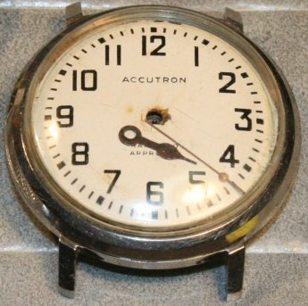 Bulova Accutron 214 Railroad restoration 1 Budget Accutron Service