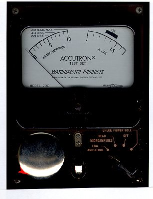Accutron electrical test meter Budget Accutron Service
