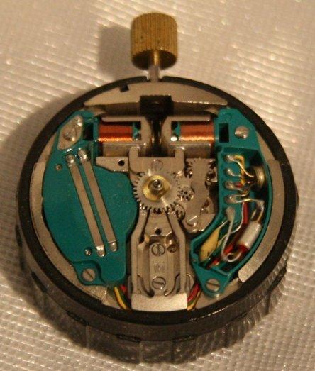 Early Accutron 214 movement Budget Accutron Service