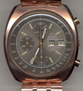 Omega speedsonic color change gold to rose gold Budget Accutron Service