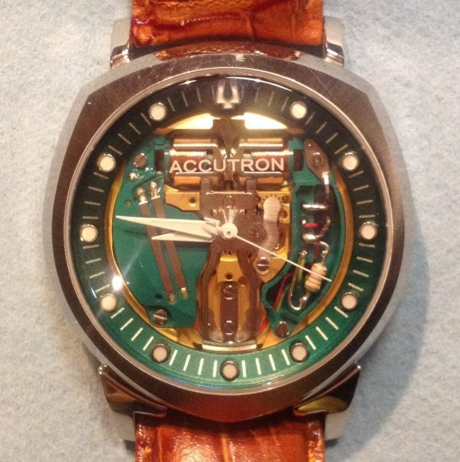 50th Anniversary Accutron Spaceview Budget Accutron Service