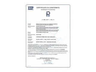 certificato tubi