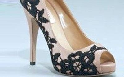 ricamo scarpe