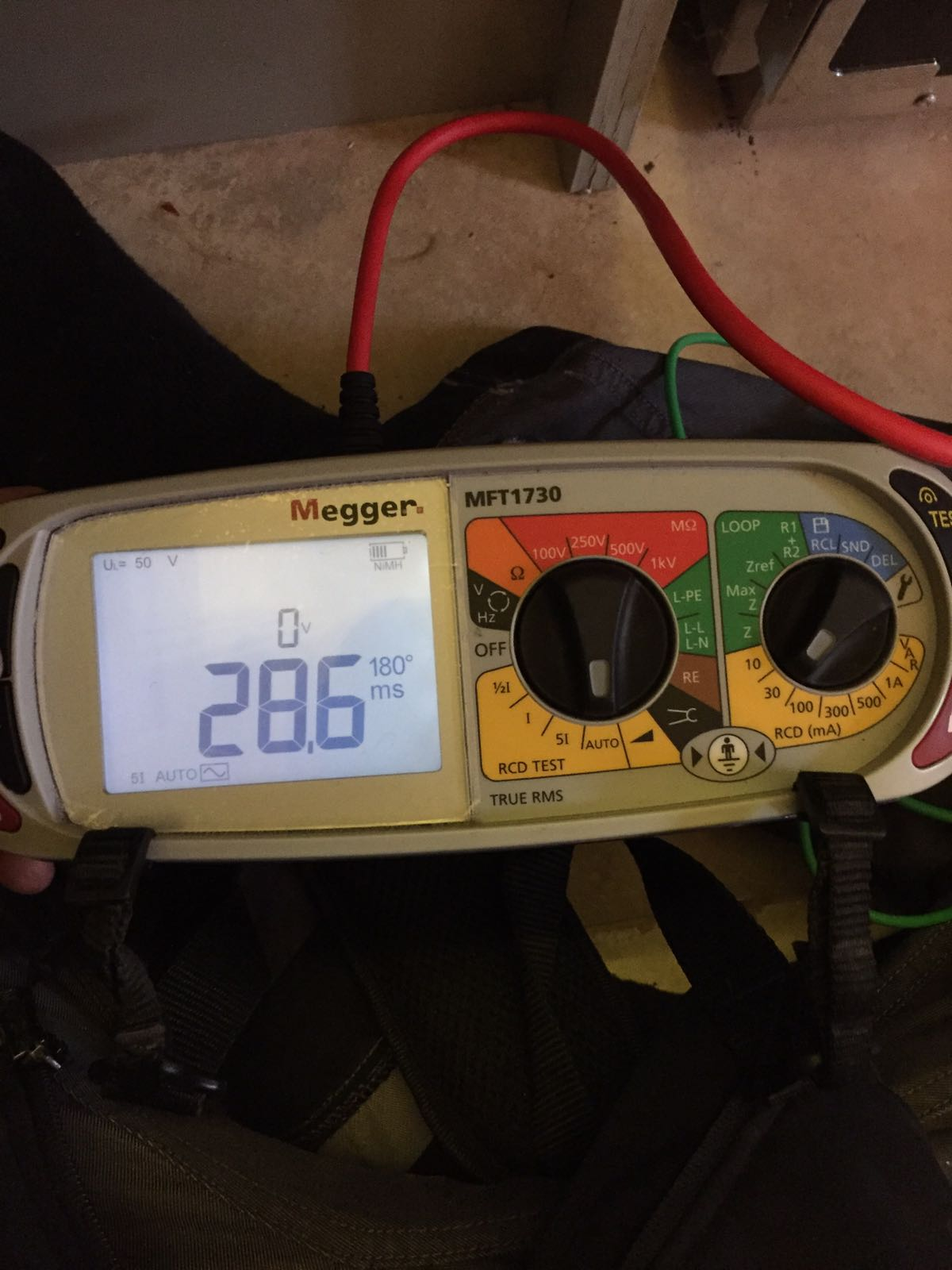 electrical test meter
