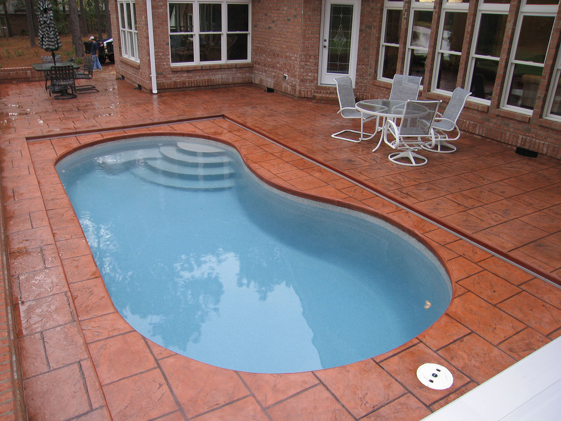 Pools durham raleigh nc professional deck builders for 10x20 pool design