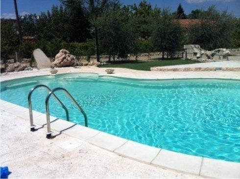 B&B con piscina