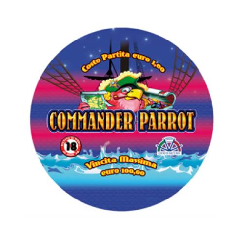 grafica commander parrot