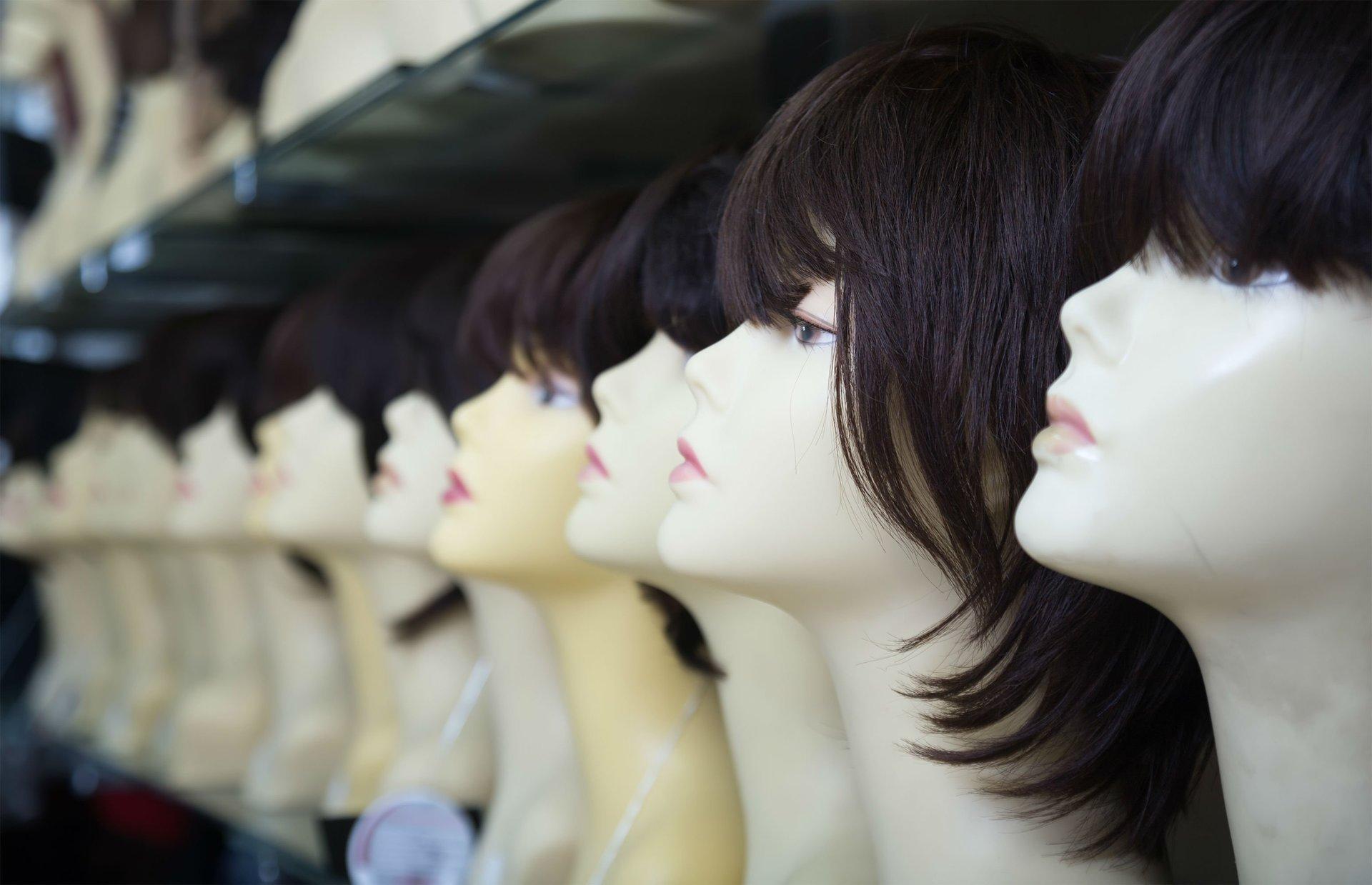 parrucche da donna brune