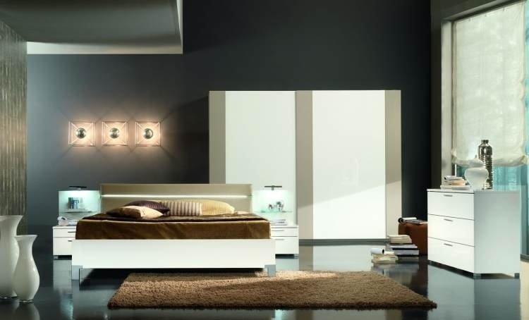 camera da letto moderna