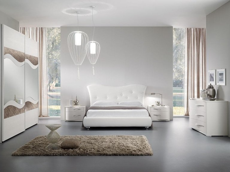 Camera da letto contemporanea moderna bc93 regardsdefemmes for Camere da letto del sud