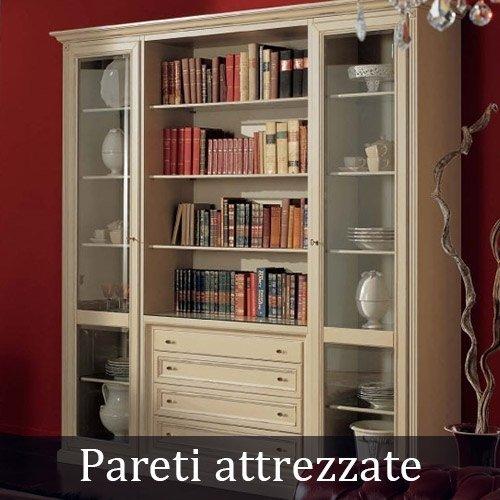 Librerie, vetrine, credenze e pareti attrezzate