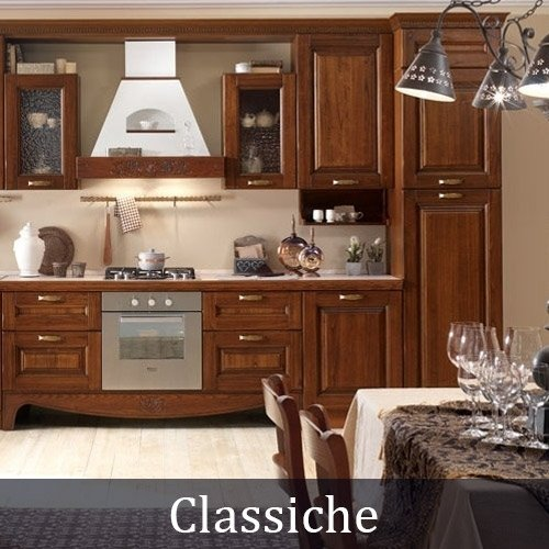 Le cucine in stile classico