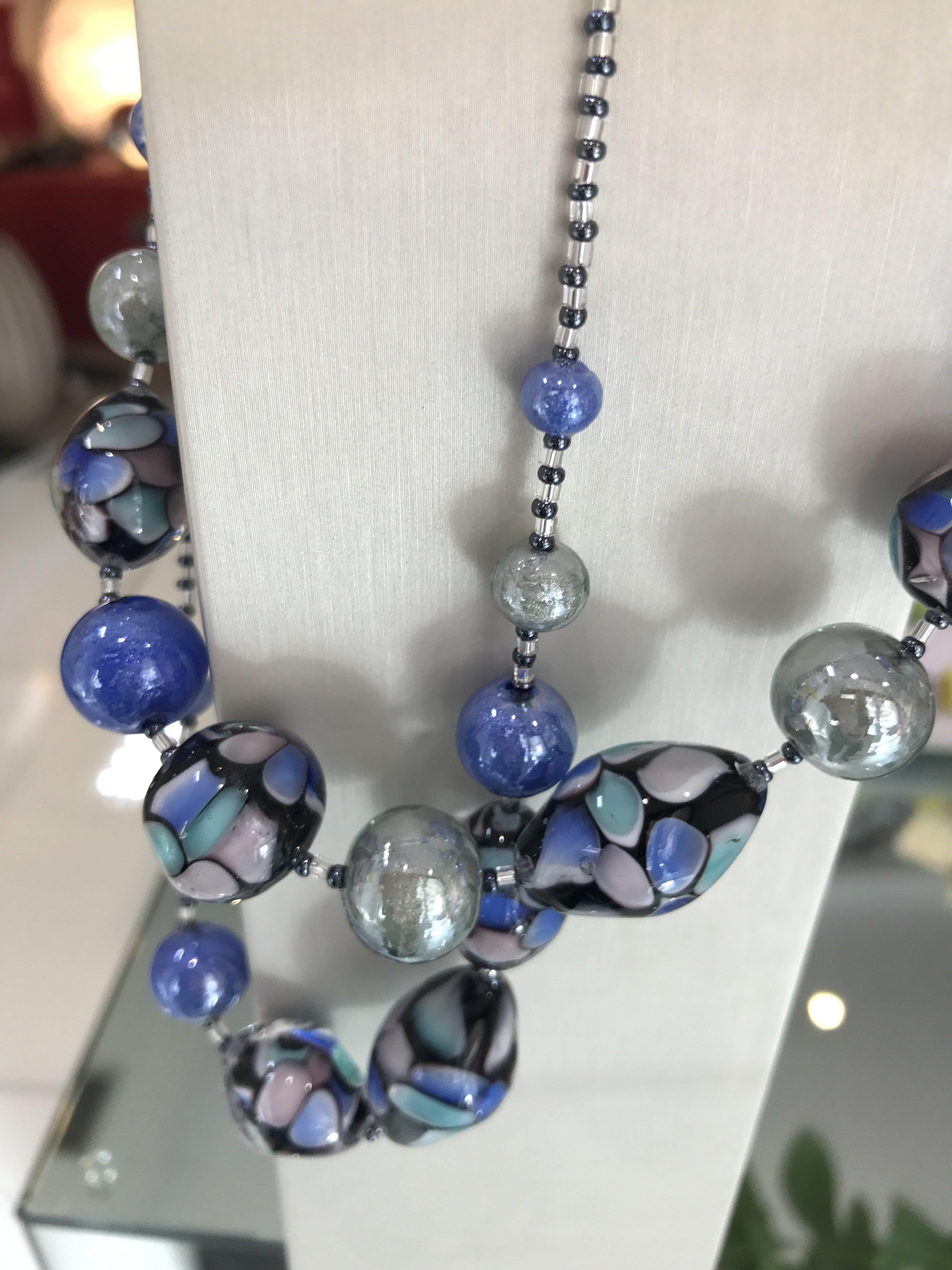gioielli blu antica murrina